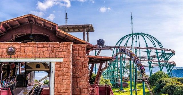 เครื่องเล่น Mine Train ของ Ocean Park (เครดิตภาพ: Ocean Park)