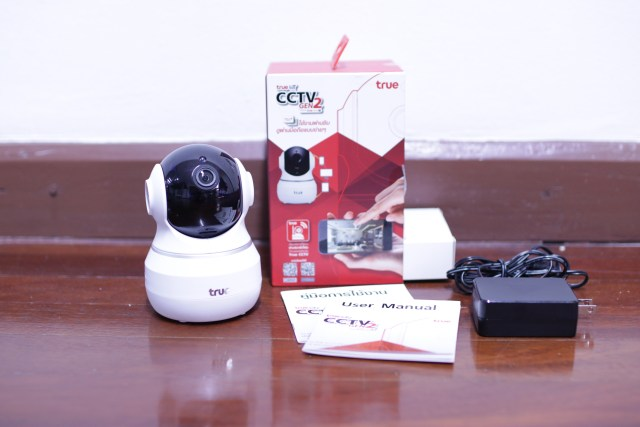 รีวิว true IoT CCTV Gen 2 by truemove H 2