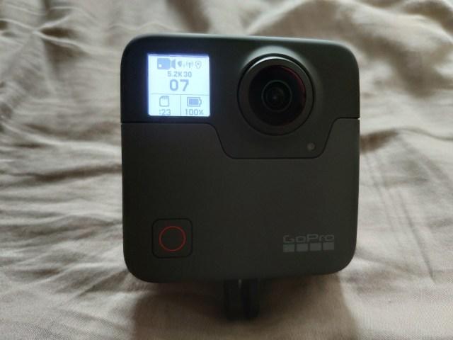 ด้านหน้า (Front) ของ GoPro Fusion
