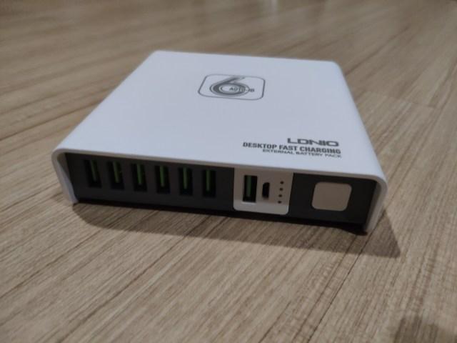 รีวิว LDNIO Desktop Fast Charging รุ่น A6802 6 พอร์ต 40 วัตต์ 2