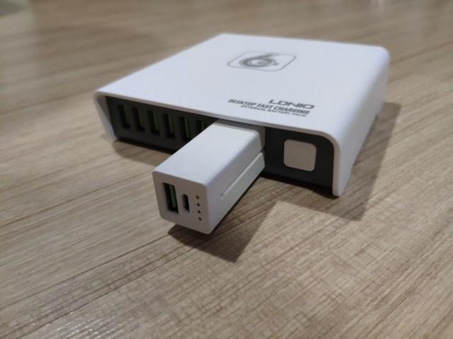 รีวิว LDNIO Desktop Fast Charging รุ่น A6802 6 พอร์ต 40 วัตต์ 3