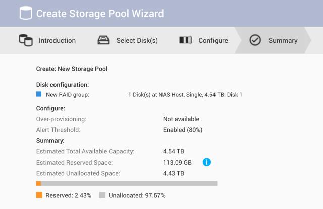 QNAP NAS 101 - EP 3: การสร้าง Storage pool และ Volume ครั้งแรก 6
