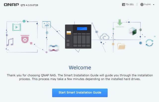 หน้าแรกของ Smart Installation Guide