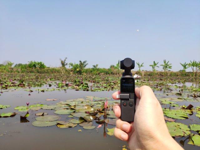 ใช้ Osmo Pocket เป็นกิมบอลติดกล้อง ถ่ายงานจำพวกแอ็คชัน