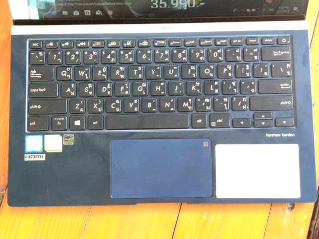 รีวิว ASUS ZenBook 14 UX433 โน้ตบุ๊กจอ 14 นิ้ว บาง เบา และมีการ์ดจอแยก 7