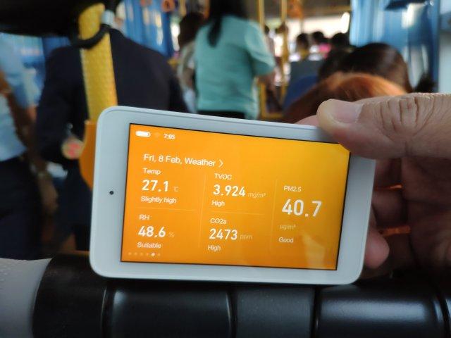 รีวิว Xiaomi Mi Jia Multifunction Air Monitor เครื่องวัดคุณภาพอากาศแบบครบเครื่อง 11