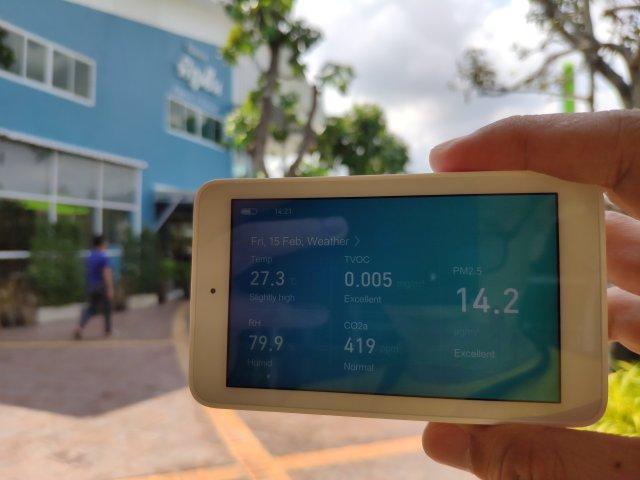 รีวิว Xiaomi Mi Jia Multifunction Air Monitor เครื่องวัดคุณภาพอากาศแบบครบเครื่อง 16