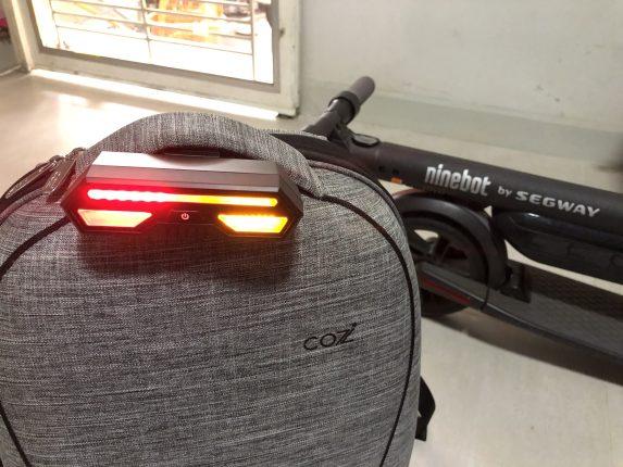 ขี่สกู๊ตเตอร์ไฟฟ้า Ninebot Kickscooter ES2 บนถนน อยากมีไฟเลี้ยวทำไงดี? 1