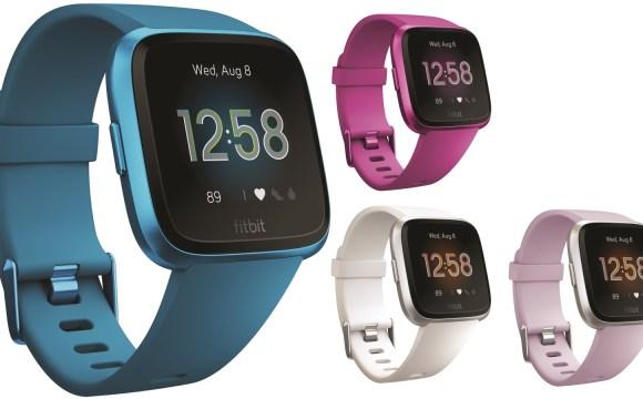 นาฬิกาอัจฉริยะ Fitbit รุ่น Versa Lite Edition สีน้ำเงิน สีม่วง สีขาว และสีชมพูอ่อน