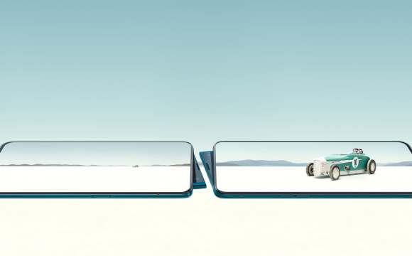 ภาพกราฟิกของสมาร์ทโฟน OPPO Reno Series