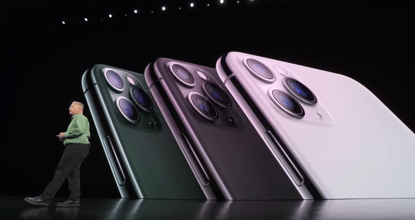 ภาพบรรยากาศตอนเปิดตัว iPhone 11 Pro