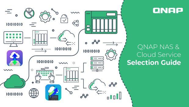 ภาพปกบล็อก QNAP NAS & Cloud Service Selection Guide