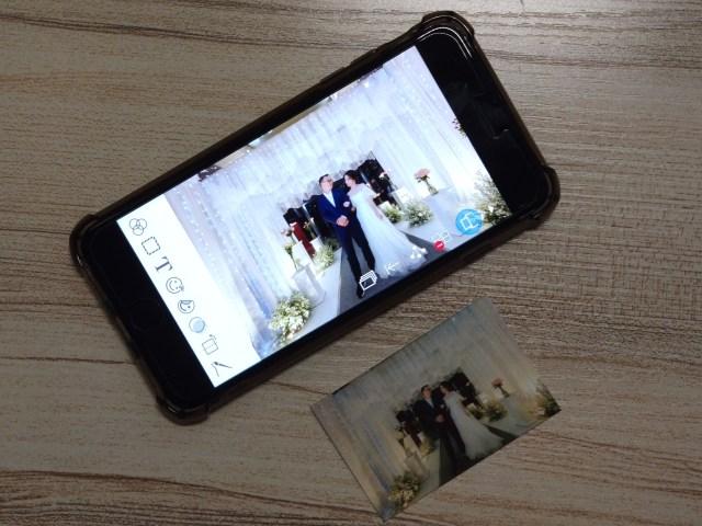 ใช้แอป CANON Mini Print ในการสั่งพริ้นต์ภาพที่ถ่ายด้วยสมาร์ทโฟน