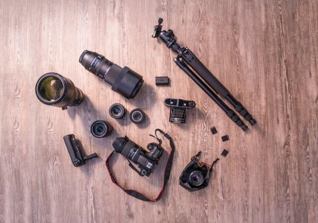 อุปกรณ์ต่างๆ ของช่างภาพ