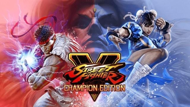 ภาพปกประชาสัมพันธ์เกม Street Fighter V Champion Edition