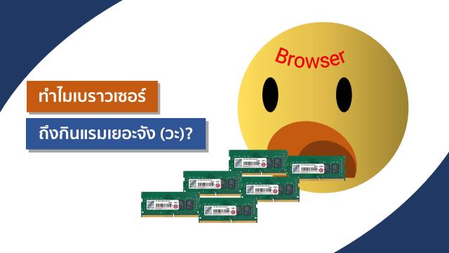 ส่วนหนึ่งของข้อมูลจาก Task Manager ของระบบปฏิบัติการ Windows ซึ่งแสดงจำนวน Process ที่ Google Chrome เปิดขึ้นมา และจำนวนทรัพยากรที่ใช้ไป คือ กินแรมไปประมาณ 2.1 กิกะไบต์