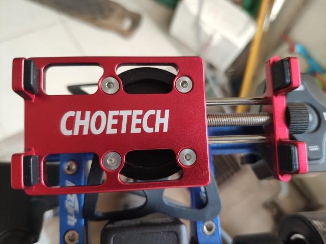 ที่จับสมาร์ทโฟน Choetech smartphone holder ที่ขยายความกว้างด้วยการคลายน็อต