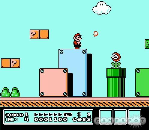ภาพจากเกม Super Mario Bros 3