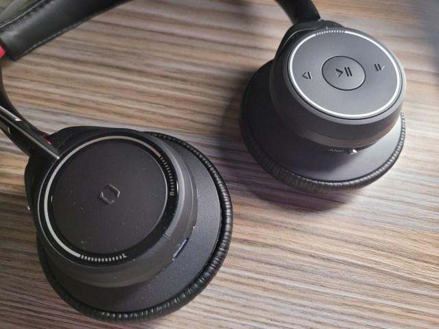 หูฟังทั้งสองข้างของ Plantronics Voyager Focus UC