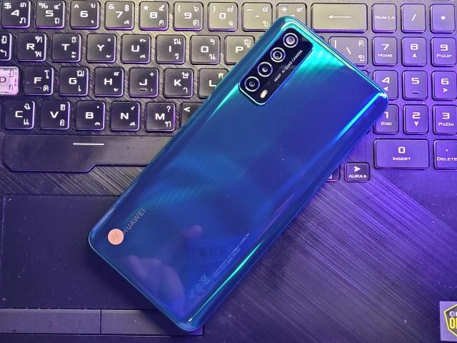 Huawei Y7a (2020) ด้านหลัง