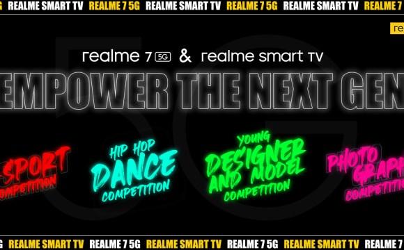realme 7 5G & realme smart TV Empower the Next Gen