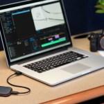 ตัวอย่างการใช้งาน SanDisk Extreme PRO SSD V2 กับเครื่อง MacBook Pro ของช่างภาพ