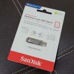 แพ็กเกจของ SanDisk Ultra Dual Drive Luxe 1TB