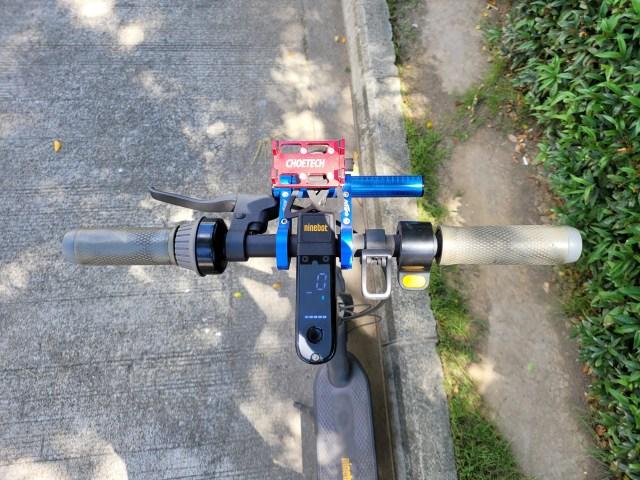แฮนด์ของ Ninebot Kickscooter MAX
