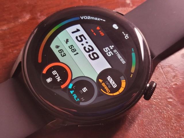 หน้าปัดนาฬิกาของ HUAWEI WATCH 3