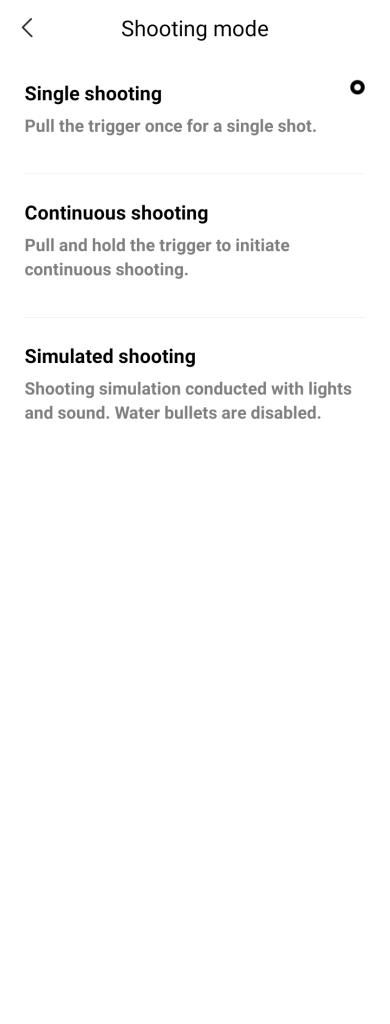 เลือกโหมดการยิงได้ 3 แบบ