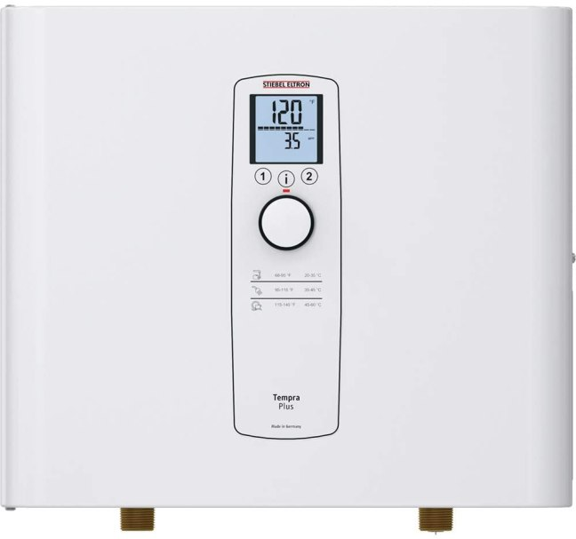Stiebel Eltron Tankless Heater – Tempra 36 Plus – Electric, On Demand Hot Water, Eco, White
