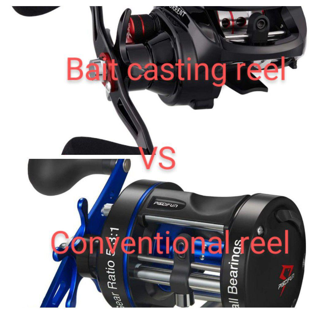 Conventional vs Baitcasting Reel