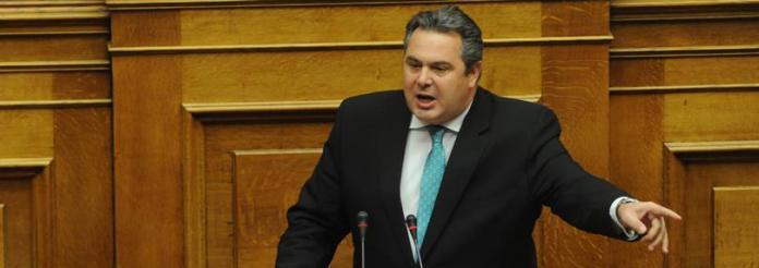 Πάνος Καμμένος:Όσο μας στηρίζει ο ελληνικός λαός, θα σας τσακίσουμε!