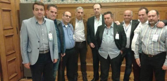 Στη Βουλή τα συνδικαλιστικά στελέχη των Ανεξαρτήτων Ελλήνων ΔΕΗ