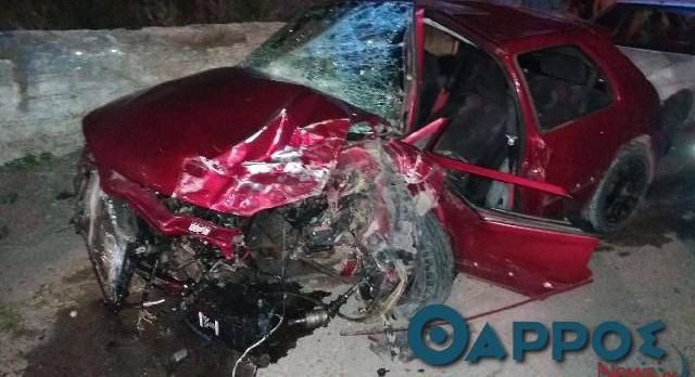 Έκαναν κόντρες και προκάλεσαν ατύχημα με τραυματισμούς στην Καλαμάτα
