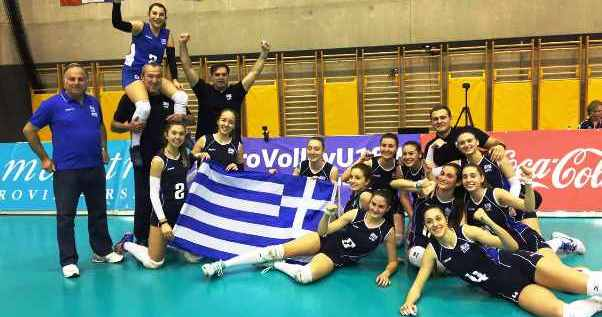 EuroVolley: Αποκλείστηκαν οι Παίδες – Πρωτιά και πρόκριση για τις κορασίδες