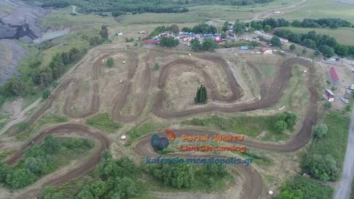 6ος αγώνας Πανελληνίου Πρωταθλήματος Motocross στη Μεγαλόπολη