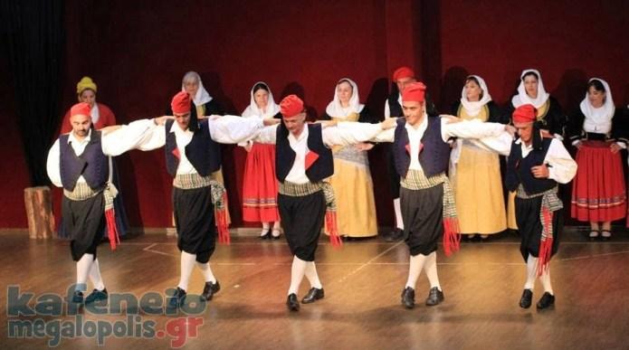 Το Βίντεο από το φεστιβάλ παραδοσιακών χορών στην Μεγαλόπολη