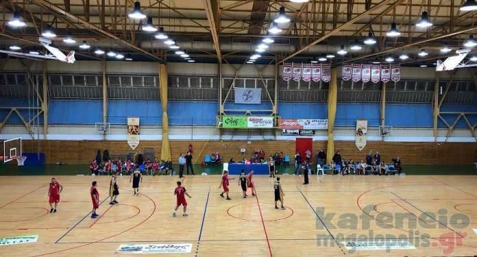 Ο Φιλανθρωπικός αγώνας μπάσκετ στην Μεγαλόπολη (photo)