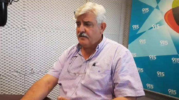 Ο υποψ. βουλευτής Αρκαδίας (ΛΑ.Ε) Σαρ. Αλεξανδρής στη ΔΡΤ
