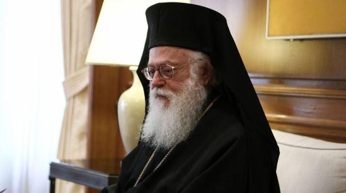 Ο Αρχιεπίσκοπος Τιράνων και πάσης Αλβανίας Αναστάσιος την Κυριακή 28 Ιουλίου στην Στεμνίτσα