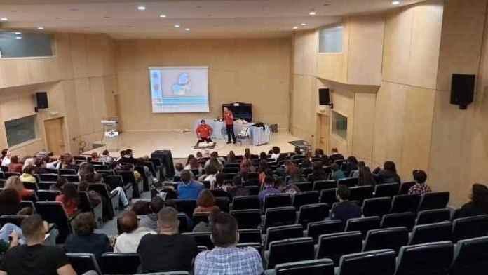 Εκπαίδευση πρώτων βοηθειών από την Ελληνική Ομάδα Διάσωσης Αρκαδίας