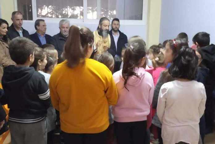 Αγιασμός και κοπή πίτας στο Κέντρο Δημιουργικής Απασχόλησης παιδιών Δήμου Μεγαλόπολης