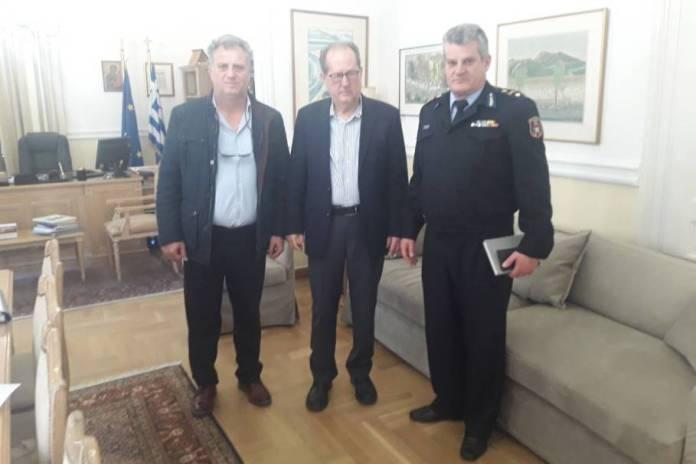 Εθιμοτυπικές συναντήσεις του Διοικητή Περιφερειακής Πυροσβεστικής Διοίκησης Πελοποννήσου