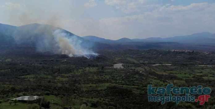 Δυο φωτιές σε Τουρκολέκα και Βελιγοστή-Ελληνίτσα