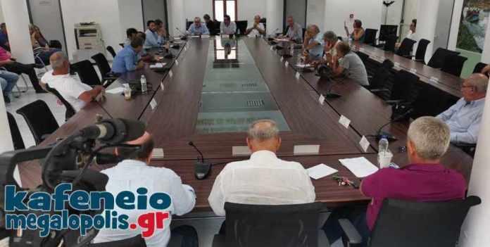 Δημοτικό συμβούλιο στην Μεγαλόπολη την Δευτέρα 6 Σεπτεμβρίου με 26 θέματα