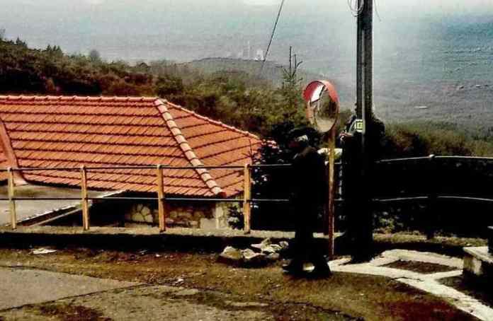 Αντικατάσταση παραβολικού καθρέπτη στο Ίσαρη από τους κατοίκους