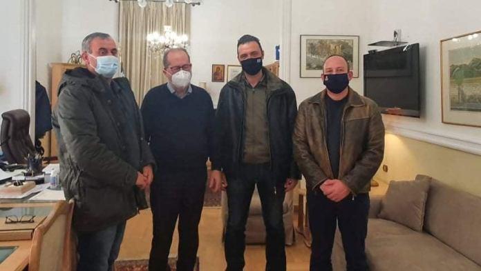 Συναντήσεις σωματείου πυροσβεστών για ίδρυση ΕΜΑΚ στη Τρίπολη