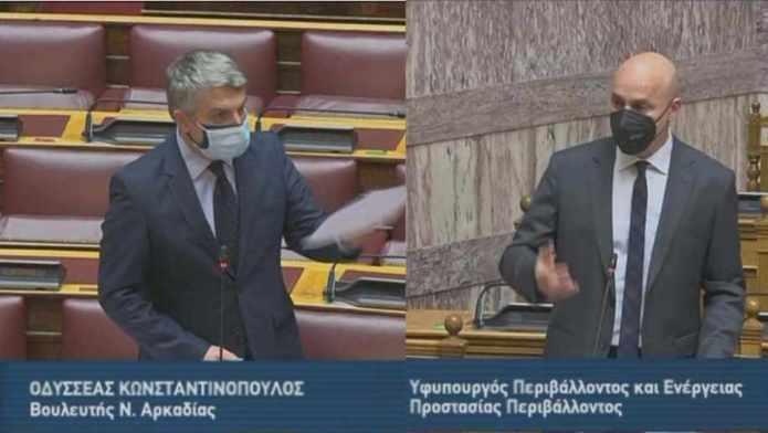 Η συζήτηση στην Βουλή για την Τηλεθέρμανση και το Φυσικό Αέριο στην Μεγαλόπολη (video)