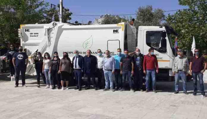 Δήμος Μεγαλόπολης: Παραλαβή δύο νέων απορριμματοφόρων